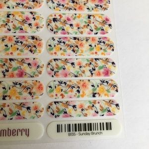 Jamberry Nail Wraps Sunday Brunch Floral New